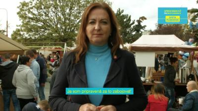 Iveta Plšeková kandidátka